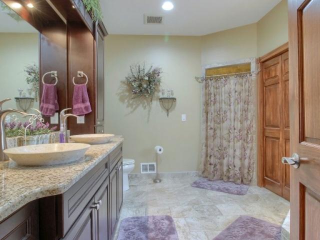 Second interior bathroom.
