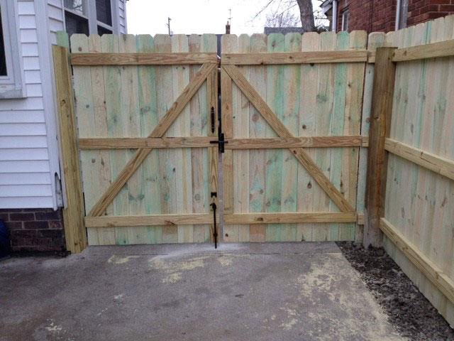Custom Made Fence